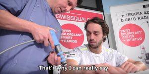 Tenista Profissional utiliza a Terapia por Ondas de Choque
